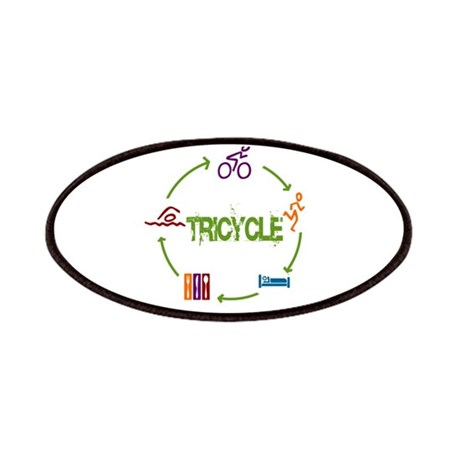 Tri Cycle Patches