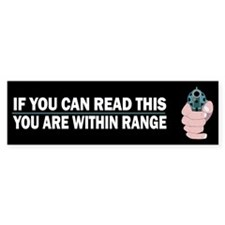 You are within range