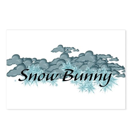 Snow Bunny Postcards (Package of 8)