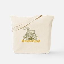 Wonderland Cottage Tote Bag