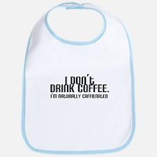 No Coffee Naturally Caffeinated Bib