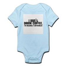 No Coffee Naturally Caffeinated Infant Bodysuit