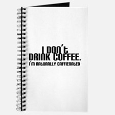 No Coffee Naturally Caffeinated Journal