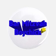 "Bar Mitzvah Boy 3.5"" Button"