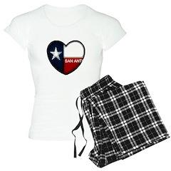 San Antonio Heart Pajamas