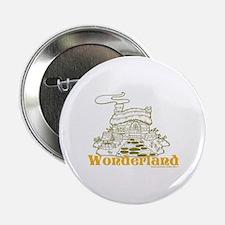 """Wonderland Cottage 2.25"""" Button"""