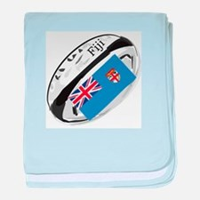 Fiji Rugby Supporters baby blanket