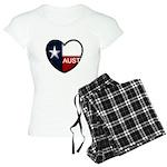 Austin Heart Women's Light Pajamas