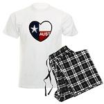 Austin Heart Men's Light Pajamas