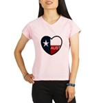 Austin Heart Women's Sports T-Shirt