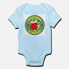 Welcome Back to School Worm Infant Bodysuit