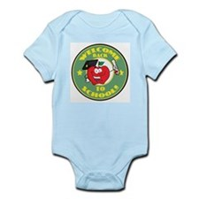 Welcome Back to School Apple Infant Bodysuit