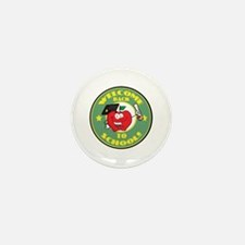 Welcome Back to School Apple Mini Button (10 pack)