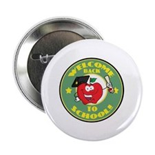"Welcome Back to School Apple 2.25"" Button (10 pack"