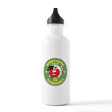 Welcome Back to School Apple Water Bottle