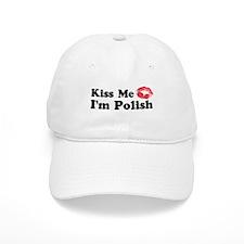 Kiss Me I'm Polish Cap