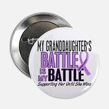 "My Battle Too Hodgkin's Lymphoma 2.25"" Button"