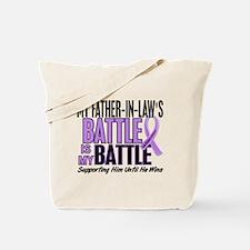My Battle Too Hodgkin's Lymphoma Tote Bag