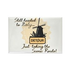 Scenic Route (Holland Detour) Rectangle Magnet