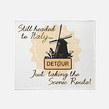 Scenic Route (Holland Detour) Throw Blanket