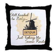 Scenic Route (Holland Detour) Throw Pillow
