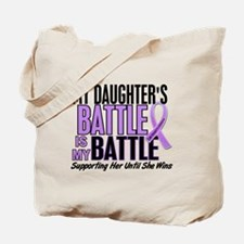 My Battle Too Hodgkin's Lymphoma Tote Bag