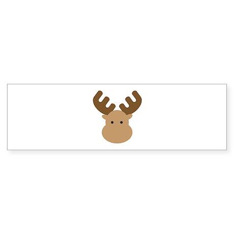 Moose Sticker (Bumper)