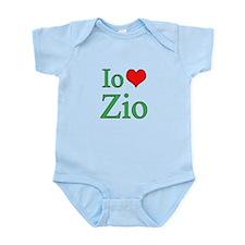 I Love Uncle (Italian) Infant Bodysuit