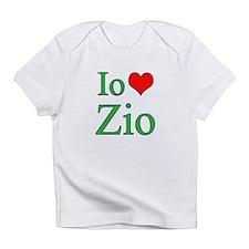 I Love Uncle (Italian) Infant T-Shirt