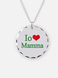I Love Mom (Italian) Necklace
