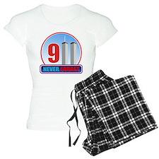 911 WTC Never Forget Pajamas