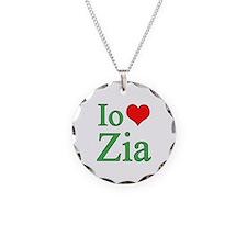 I Love Aunt (Italian) Necklace