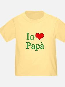 I Love Dad (Italian) T