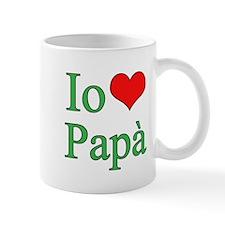 I Love Dad (Italian) Mug