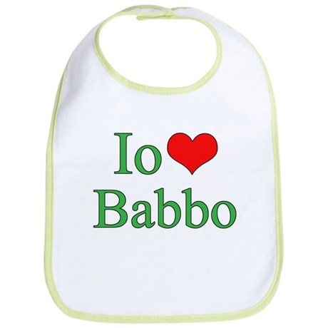 I Love Dad - 2 - (Italian) Bib