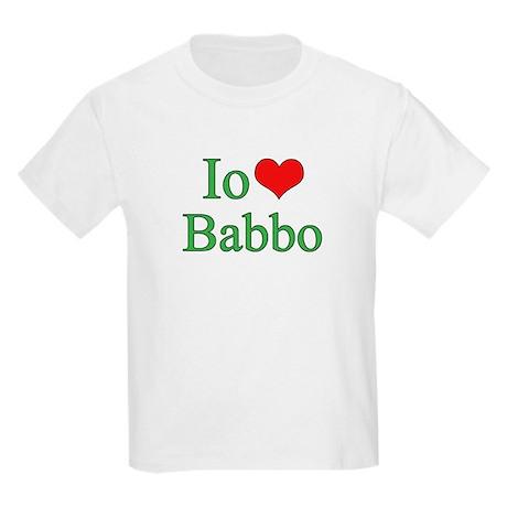 I Love Dad - 2 - (Italian) Kids Light T-Shirt