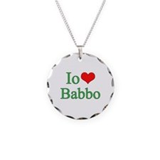 I Love Dad - 2 - (Italian) Necklace