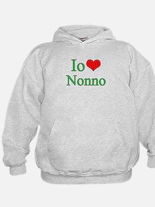 I Love Grandpa (Italian) Hoody