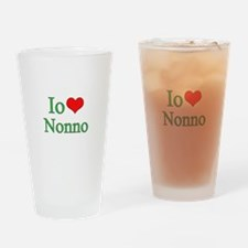 I Love Grandpa (Italian) Pint Glass
