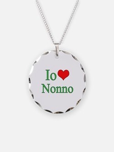 I Love Grandpa (Italian) Necklace