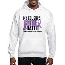 My Battle Too Hodgkin's Lymphoma Hoodie