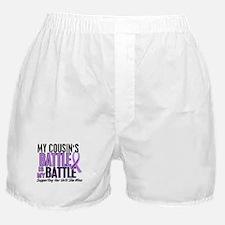My Battle Too Hodgkin's Lymphoma Boxer Shorts