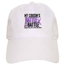 My Battle Too Hodgkin's Lymphoma Baseball Cap