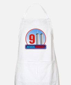 911 WTC Never Forget Apron