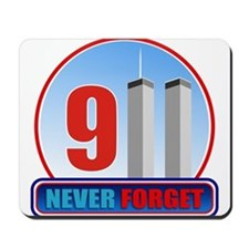 911 WTC Never Forget Mousepad
