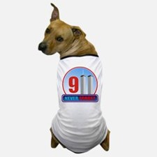 911 WTC Never Forget Dog T-Shirt