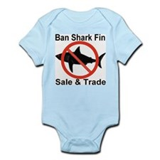 Ban Shark Fin Sale & Trade Infant Bodysuit