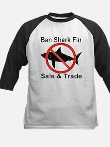 Ban Shark Fin Sale & Trade Kids Baseball Jersey