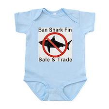 Ban Shark Fin Sale & Trade Infant Bodysuit