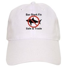 Ban Shark Fin Sale & Trade Baseball Baseball Cap